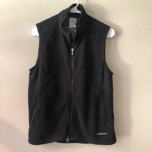 Patagonia fleece zip up vest